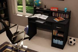 Wayfair Desks With Hutch south shore axess 1 drawer computer desk with hutch u0026 reviews