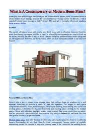 100 Modern Home Blueprints What Is A Contemporary Or Modern Home Plans By Vikesh Nayar