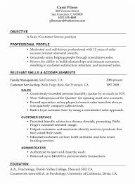 Skills To Put On A Resume For Customer Service Example Of