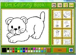 Coloring Book Shareware Download Software For Kids To Learn Gm