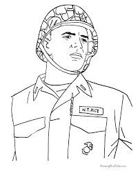 Veterans Day Coloring Pages For Kid