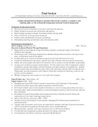 Resume For Us Job