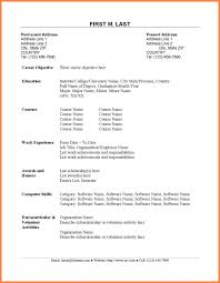 Resume Sample Accounting Fresh Graduate Refrence For