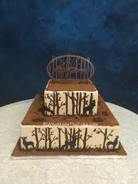 A Different Take On Hunting Themed Grooms Cake By WhoMadeTheCake