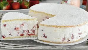 erdbeer frischkäse torte gelingt immer einfach nur lecker