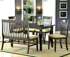Dining Room Table With Bench And Chairs Cinnamora