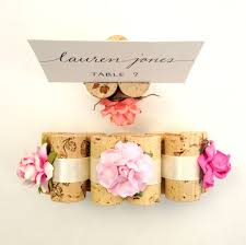 Vineyard Wedding Place Card Holder
