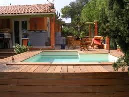 charmant decoration piscine hors sol 6 piscine semi enterree