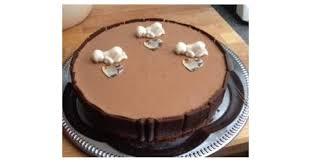 schokoladen mousse torte eis