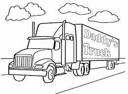100 18 Wheeler Trucks Lofty Idea Semi Truck Coloring Pages Contemporary Decoration