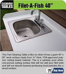 Stainless Steel Fish Cleaning Station With Sink by Slide6 Jpg