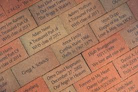 Photo Of Brick Ideas by Photo Gallery Installations Fundraising Brick