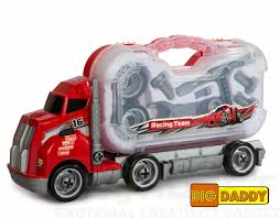 Big Daddy Big Rig Tool Master - Transport Toy Truck Carrier With ... Pink Dump Truck Walmartcom 1pc Mini Toy Trucks Firetruck Juguetes Fireman Sam Fire Green Toys Cstruction Gift Set Made Safe In The Usa Promotional High Detail Semi Stress With Custom Logo For China 2018 New Kids Large Plastic Tonka Wikipedia Amazoncom American 16 Assorted Colors Star Wars Stormtrooper And Darth Vader Are Weird Linfox Retail Range Pwrsce Of 3 Push Go Friction Powered Car Pretend Play Dodge Ram 1500 Pickup Red Jada Just 97015 1 Trucks Collection Toy Kids Youtube