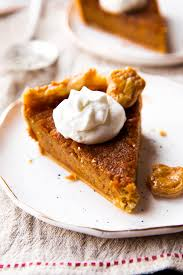 Homemade Pumpkin Pie With Molasses by The Great Pumpkin Pie Recipe Sallys Baking Addiction