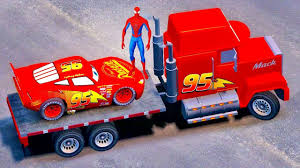 Lightning McQueen Transportation & Mack Truck Spiderman, KIDS ... Mack Truck Merchandise Hats Trucks Black Gold Learn Colors For Kids With Disney Transportation Dinoco The Lightning Mcqueen Transportation Original Acrylic Marilyn Allis Cstruction Videos Learn Colors Pixar And Cars 2 2013 Youtube Vision Group Amazoncom Bruder Granite Dump Toys Games Color Unveils New Highway Truck Calls It A Game Changer Its