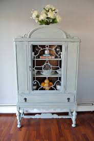 Jacobean Antique China Cabinet in Cook County Arlington Heights