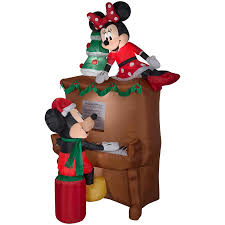 Disney Garden Decor Uk by Christmas Shop Christmas Inflatables At Lowes Com Disney Outdoor