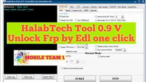 mobileteam1 halabtech tool 0 9 v update free
