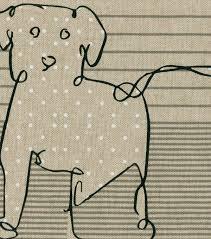 Kids U0027 Easels U0026 Drawing by Ed Ellen Degeneres Upholstery Fabric 27 U0027 U0027 Shale Doodle Dog Joann