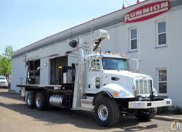 National Crane 8100D Boom Truck On 2016 Peterbilt 348 Crane For Sale ...
