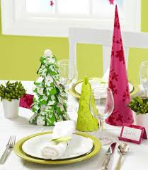 Christmas Centerpiece Ideas Paper Trees