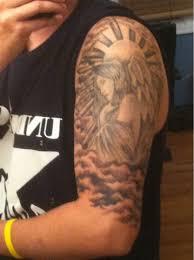 Woman Half Sleeve Classic Tattoo Designs