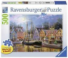 Item 2 RAVENSBURGER JIGSAW PUZZLE SHIPS AGLOW NICKY BOEHME 500 PC LARGE FORMAT 14912