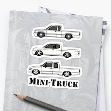 100 Mini Truck Stickers By Alienxpres51 Redbubble
