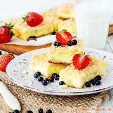 fluffiger low carb vanille quarkkuchen rezept ohne zucker