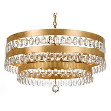Fancy Crystal Chandelier Decoration Light For Hotel Living Room