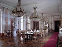 Dining Room In The Lancut Castle Poland