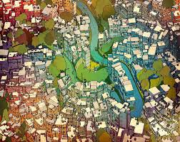 Fantastic Cities Steve McDonald Adult Coloring Books