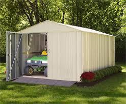 arrow 10x20 commander metal storage shed