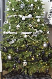 Show Off Your Holiday Decor With A Gorgeous Modern White Silver And Black Ombre