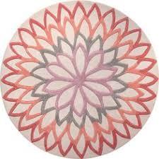 tapis lotus flower tapis moderne par esprit tapis rond lotus et