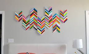 Diy Construction Paper Wall Decor Art Craft Ideas How Tos For Home D On