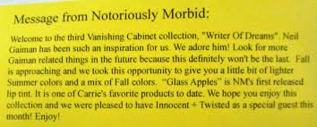 Vanishing Cabinet Of Time by Notoriously Morbid August 2014 Vanishing Cabinet U0027writer Of