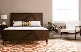 Mid Century Modern Bedroom Essentials Platform Bed