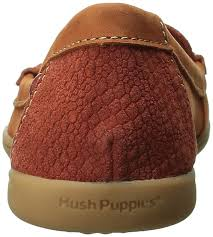 Hush Puppies Ceil Penny Loafers by Hush Puppies Hush Puppies Ryann Claudine Dk Orange Nubuck Snake