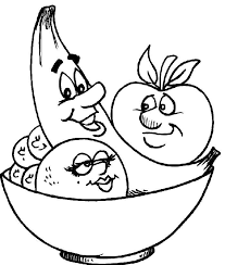 Coloring Pages Fruit And Vegetables 11