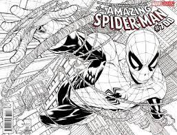 Amazing Spider Man Vol 1 700 Quesada Sketch Variant