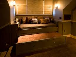 Pop Up Trundle Beds by Bedding Bedroom Attractive Trundle Beds For Modern Bedroom