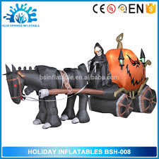 Halloween Inflatable Archway by Halloween Inflatable Carriage Halloween Inflatable Carriage