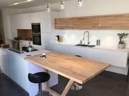 plan de travail cuisine bois brut un plan snack dans ma cuisine flip design boisflip design bois