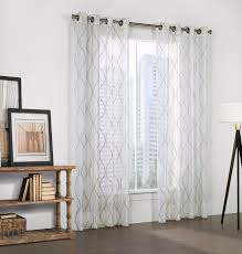 White Sheer Voile Curtains by Indoor U0026 Outdoor Grommet Top Curtains And Panels Thecurtainshop Com
