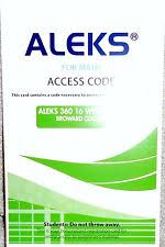 Aleks 360 For Math Student Access Code 16 Weeks Green Broward College