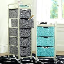 Plastic Drawers On Wheels by Storage Cart With Wheels And Drawers Plastic Storage Cart Wheels