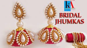 How To Make Designer Bridal Silk Thread Earrings-Jhumkas At Home ... How To Make Pearl Bridal Necklace With Silk Thread Jhumkas Quiled Paper Jhumka Indian Earrings Diy 36 Fun Jewelry Ideas Projects For Teens To Make Pearls Designer Jewellery Simple Yet Elegant Saree Kuchu Design At Home How Designer Earrings Home Simple And Double Coloured 3 Step Jhumkas In A Very Easy Silk Earring Bridal Art Creativity 128 Jhumka Multi Coloured Pom Poms Earring Making Jewellery Owl Holder Diy Frame With