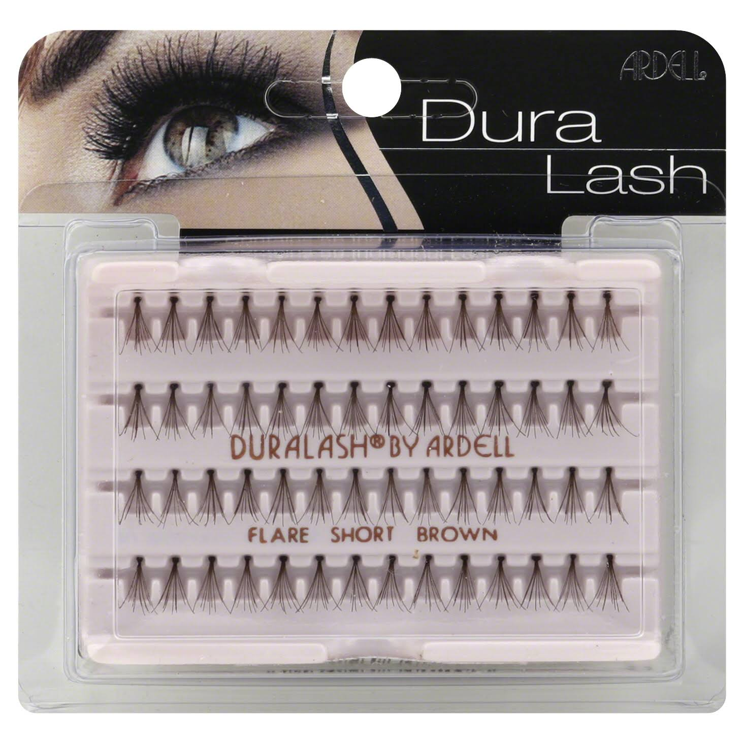 Ardell DuraLash Lashes - Flare Short Brown