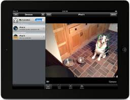 App turns iPhone and iPad into security camera motion detector